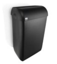 Satino Black afvalbak 43 liter